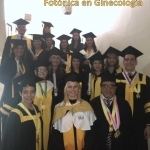 Profesores y Graduandos del Diplomado Medicina Fotónica en Ginecología